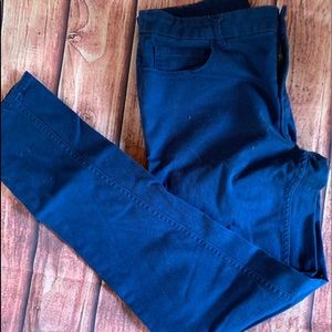 Forever 21 Blue High Rise Jeans Trousers